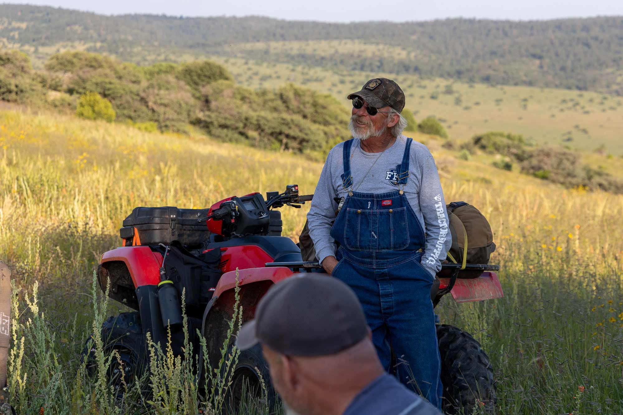 Preston Bates, owner of N Bar Ranch, wears his 30 years of solitude in the Gila National Forest with a quiet pride.