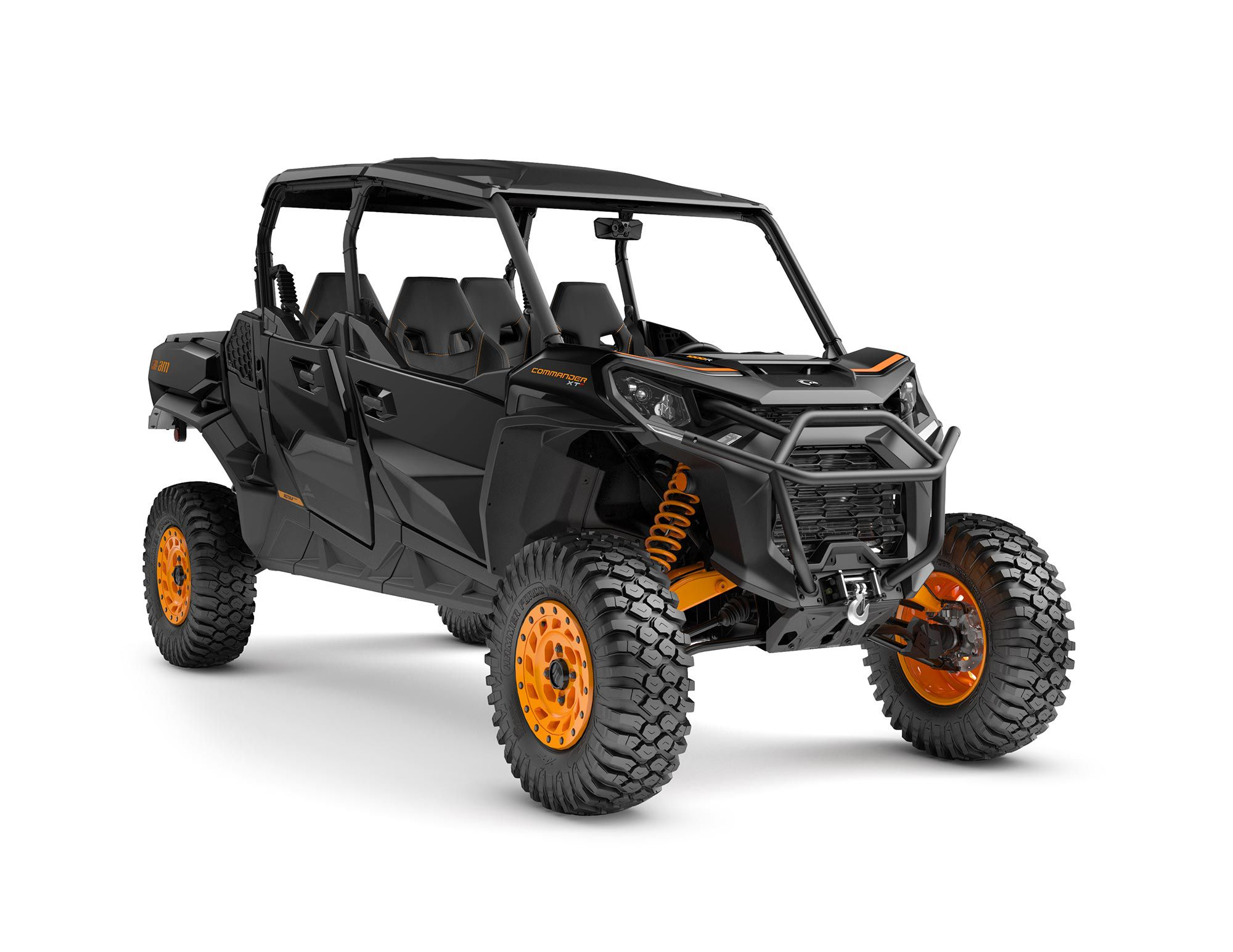 The 2022 Can-Am Commander Max XT-P promises wild trail capability and room for four.