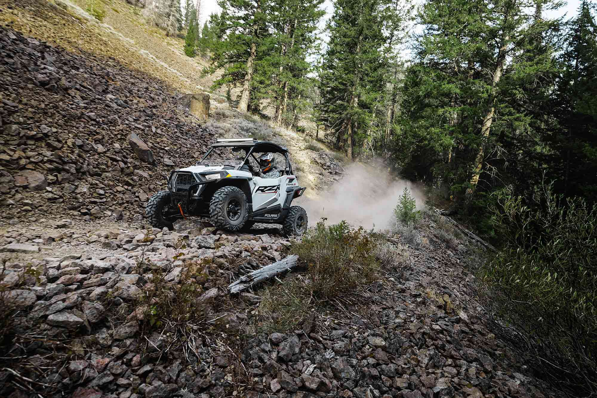 With a 60-inch track and models ranging from bare bones to fully decked out, the 2022 Polaris RZR Trail S has something for everyone.