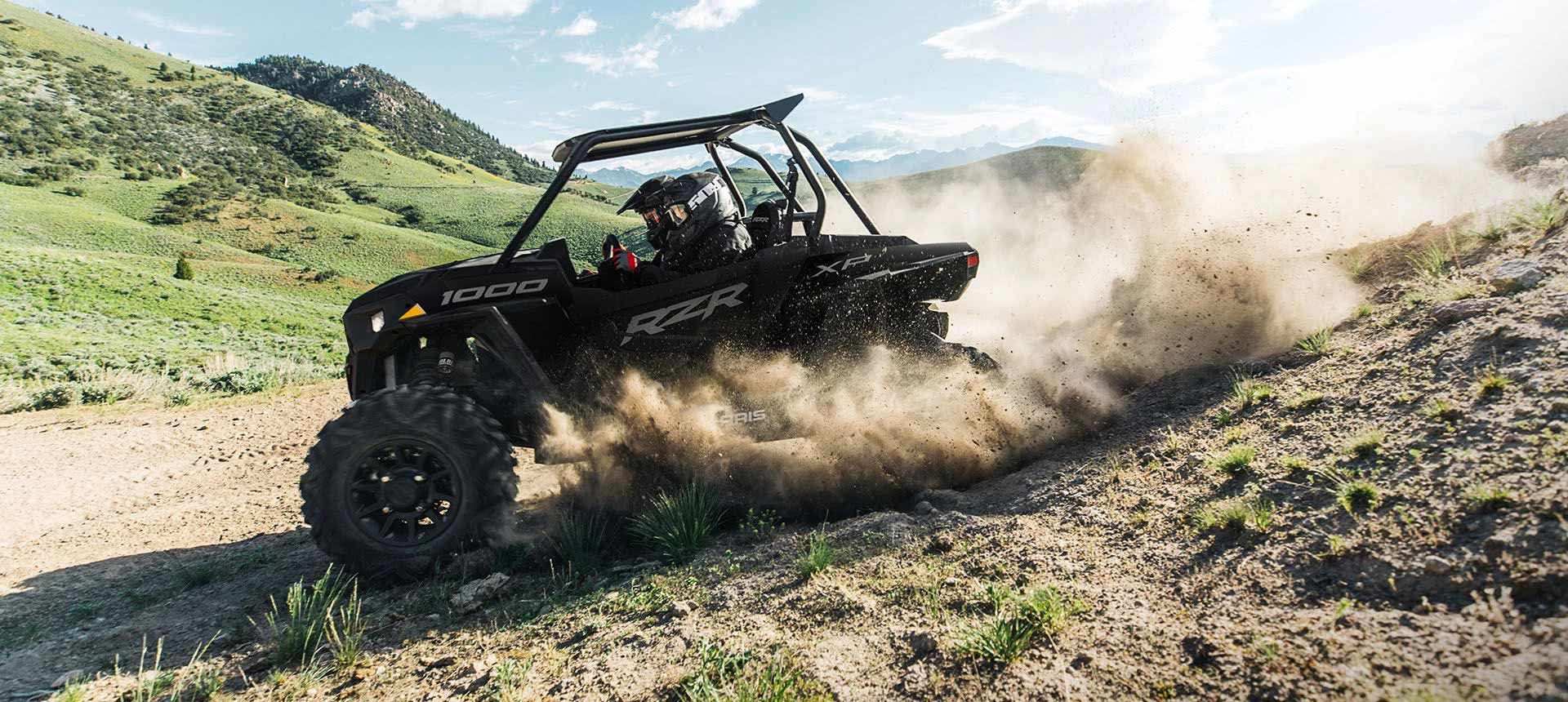 2022 Polaris RZR XP 1000 Sport available with two or four seats.