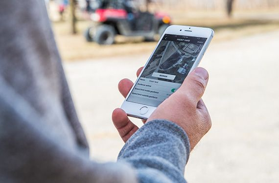 The 2022 Ranger 150 EFI offers the ability to geofence, speed limiting, and GPS tracking via the Ride Command mobile app.