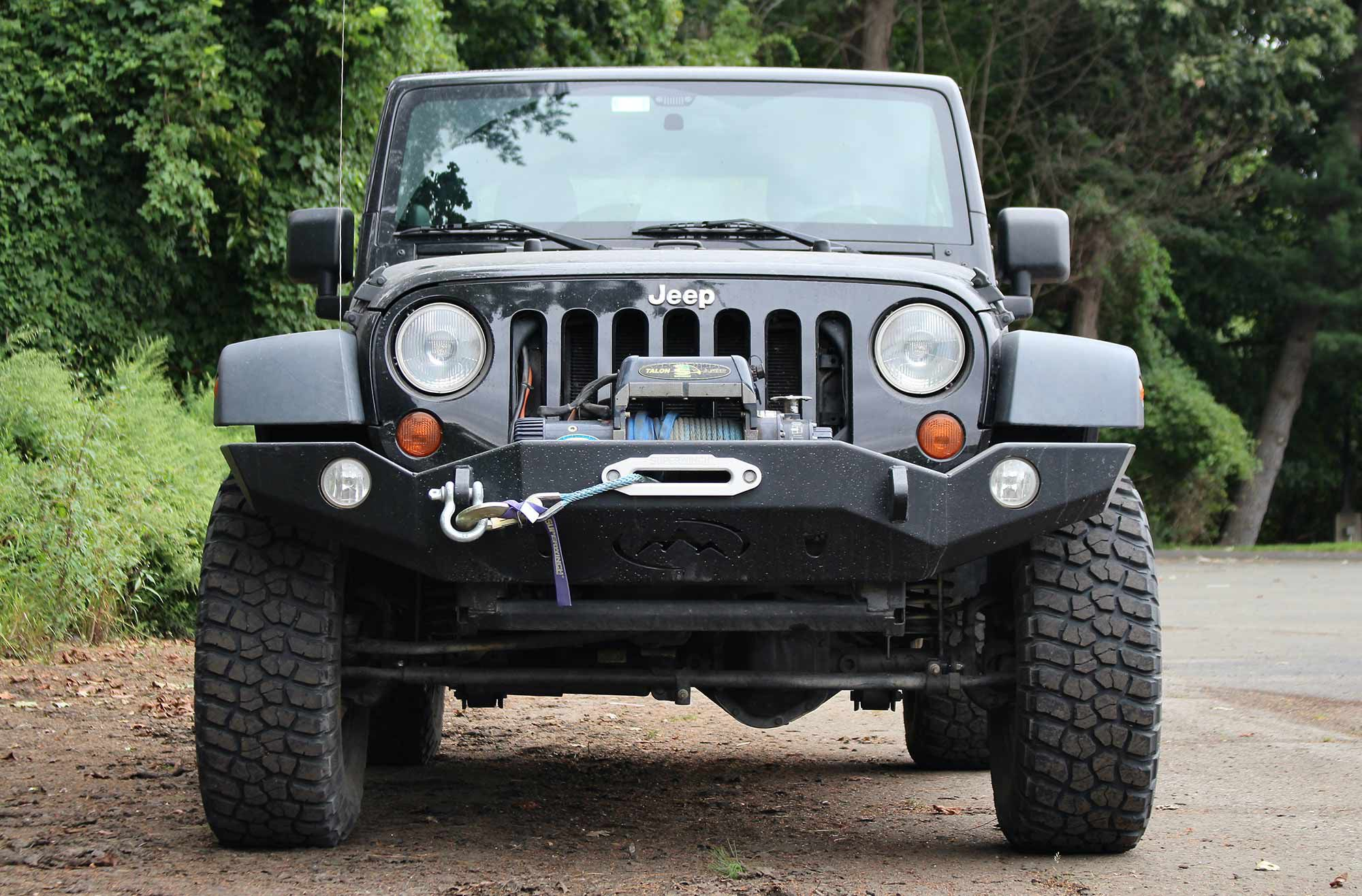 At its core, the JK Wrangler Sport is a lot like today's UTVs.