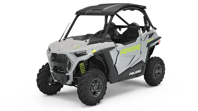 2022 Polaris RZR Trail Premium in Ghost Gray.