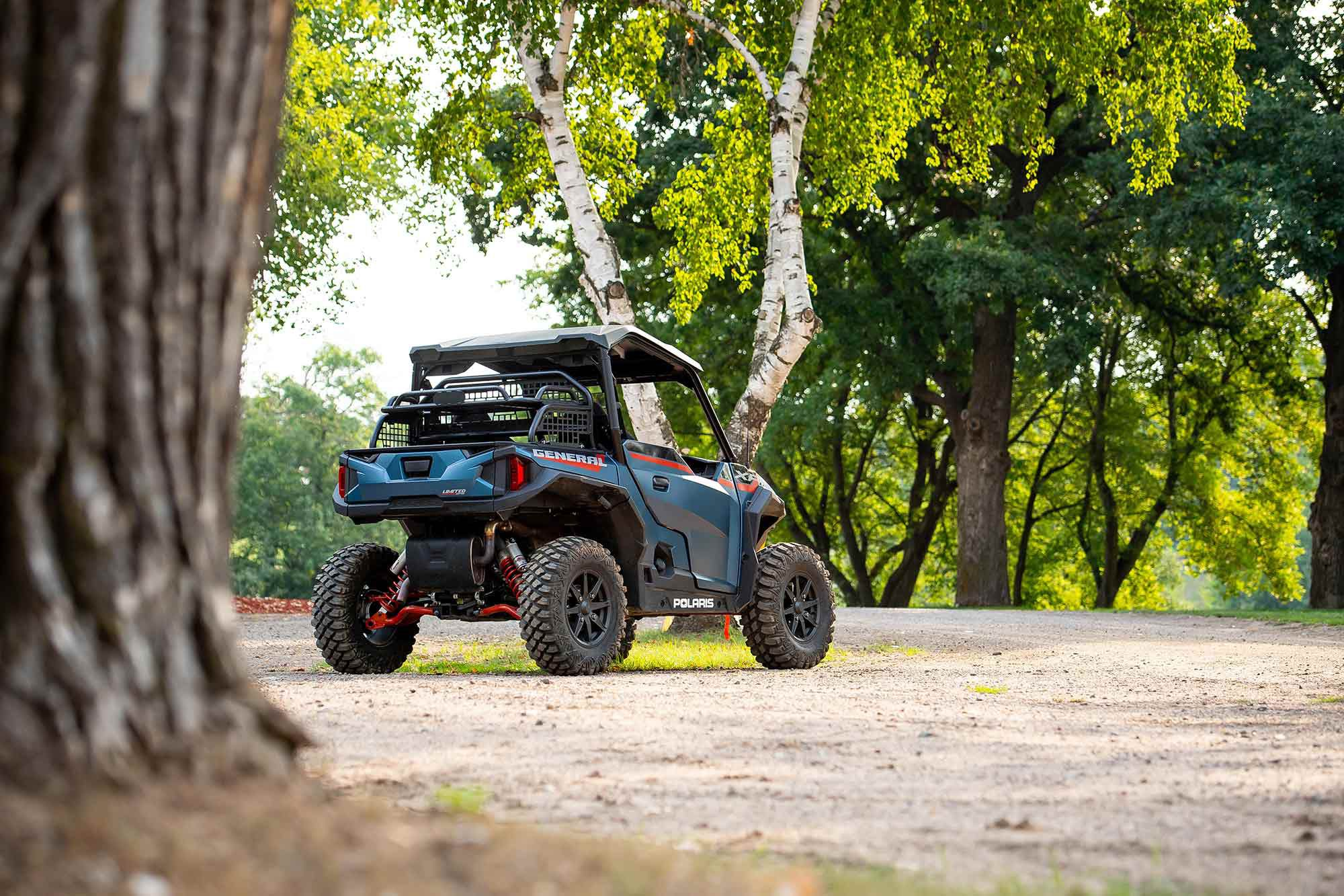Inventory may be low, but Polaris has had one of its best years on record.