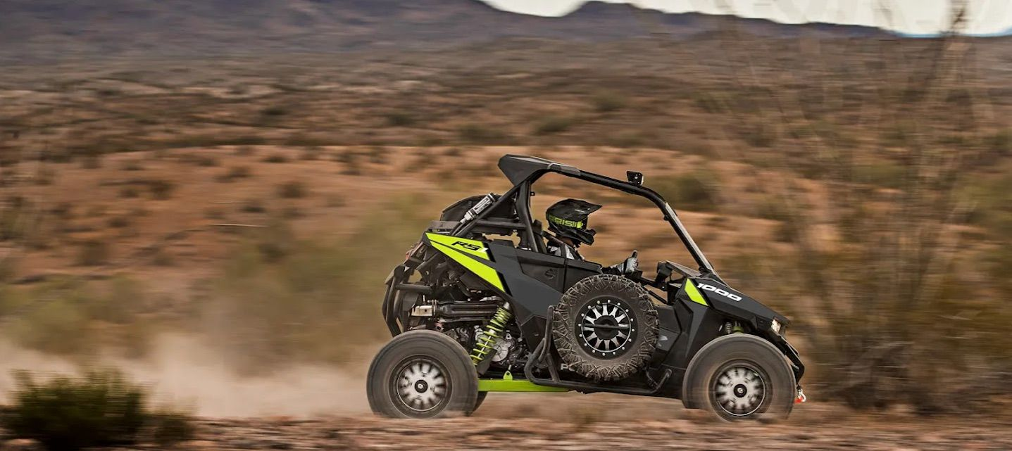 There aren't any option packages available, but Polaris will deck the RS1 out to your heart's content with the accessories catalog.