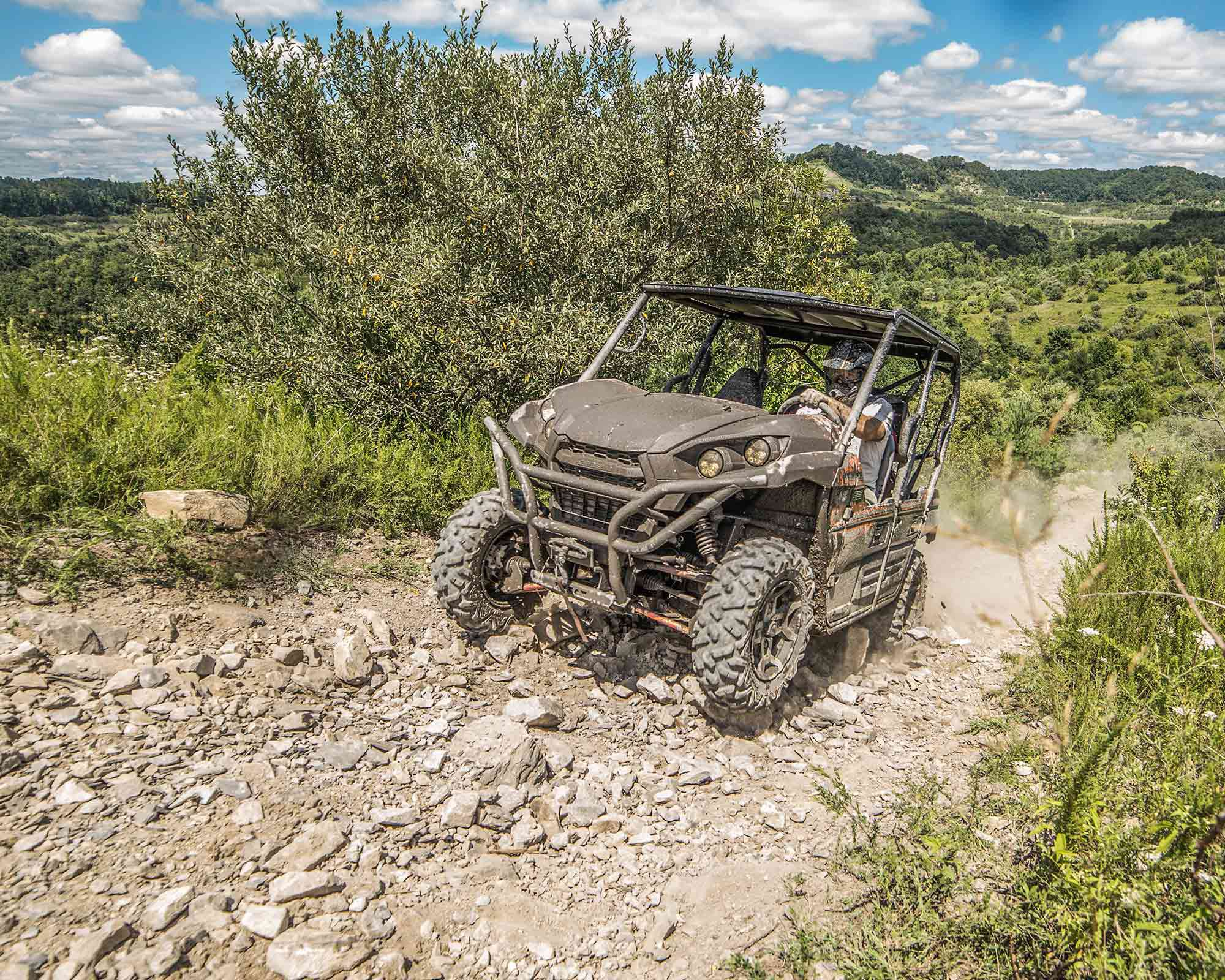 Quick access to a massive trail system attracts powersports users from across the country.