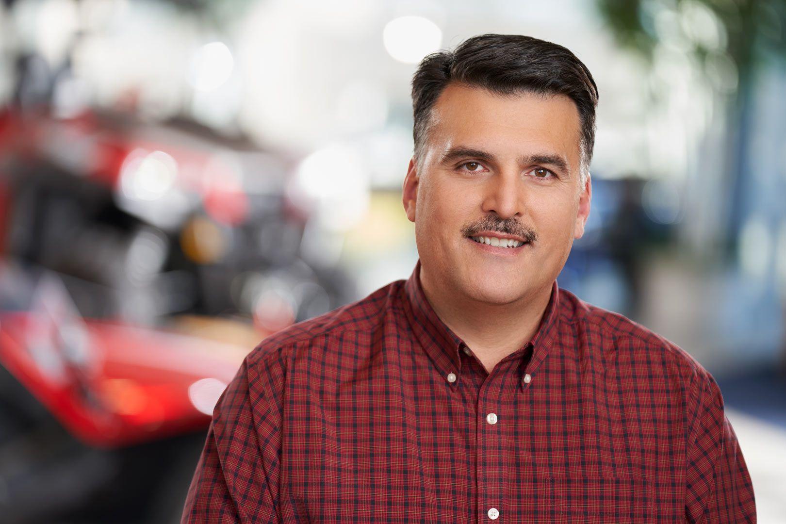 Polaris OHV President Steve Menneto.