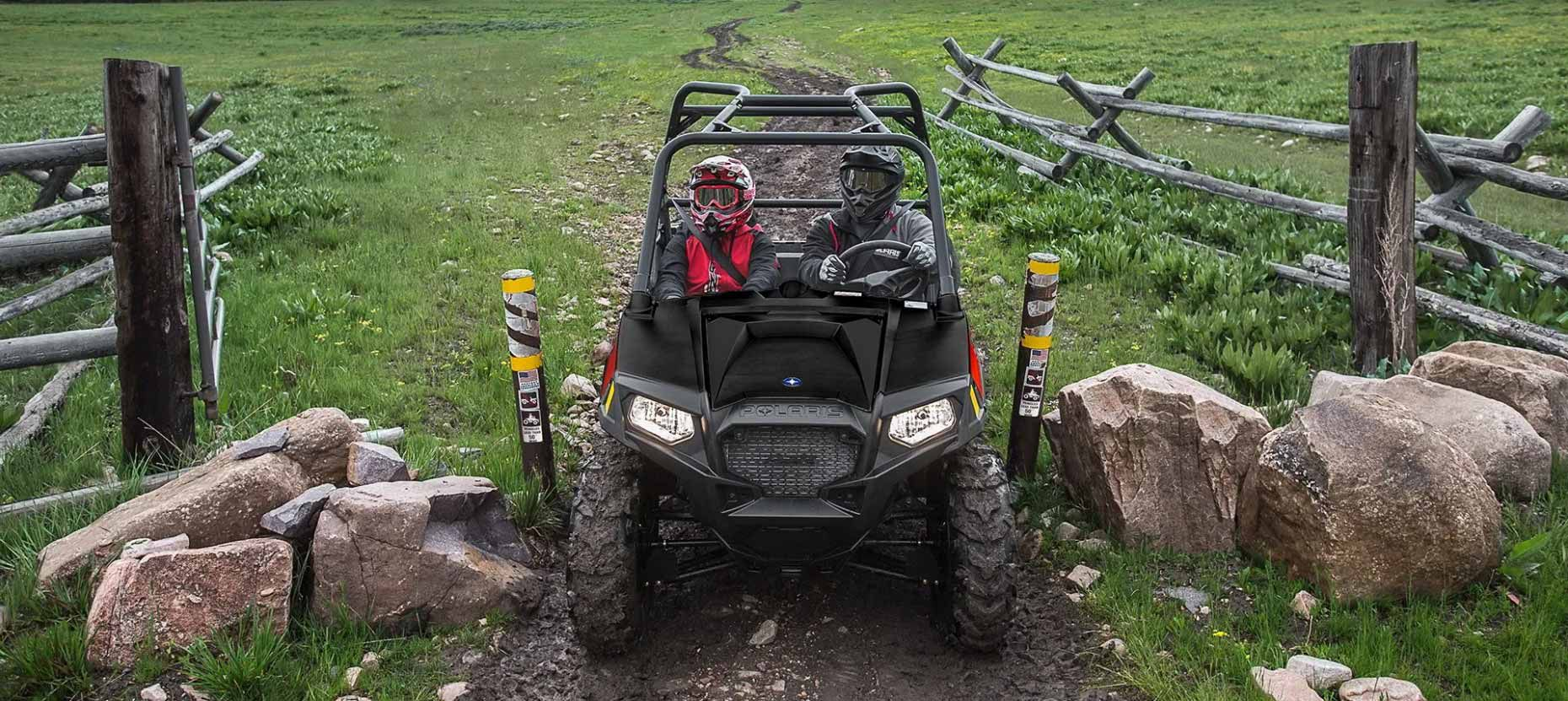 The 50-inch width means you can go almost anywhere, even those restricted trails.