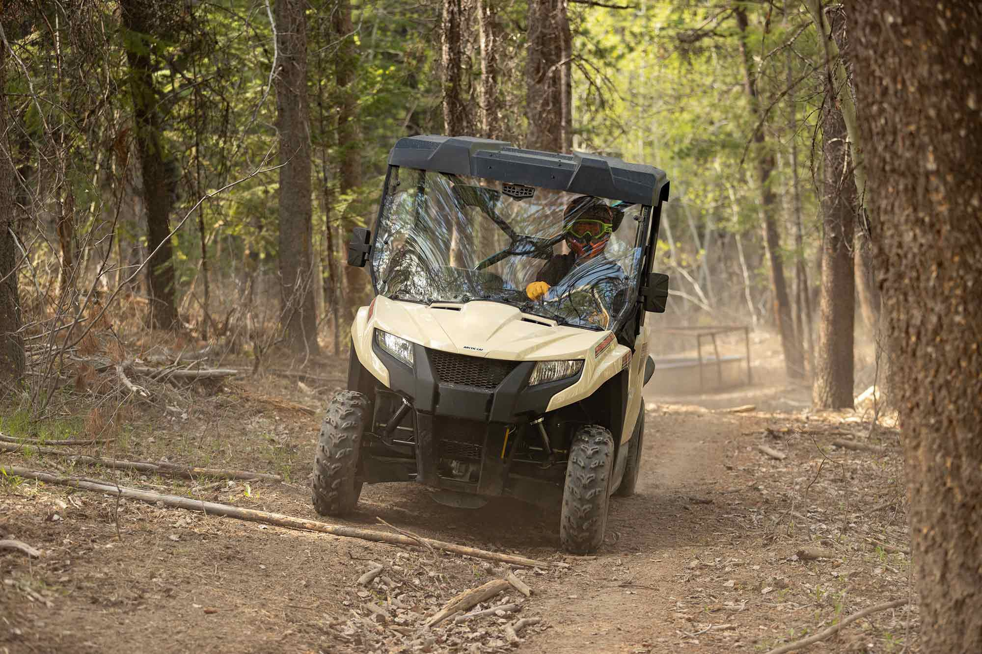 The 2022 Prowler 500 continues to work the middleweight utility class for Arctic Cat.