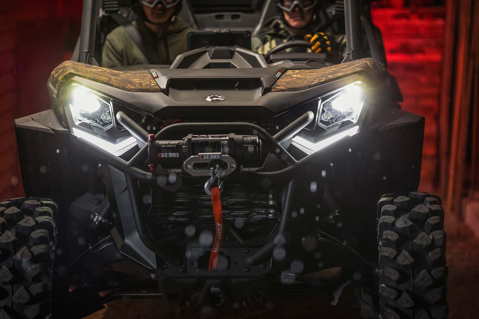 For 2022 Can-Am is chucking the option book at its Commander, to create the mud-focused Commander X MR.