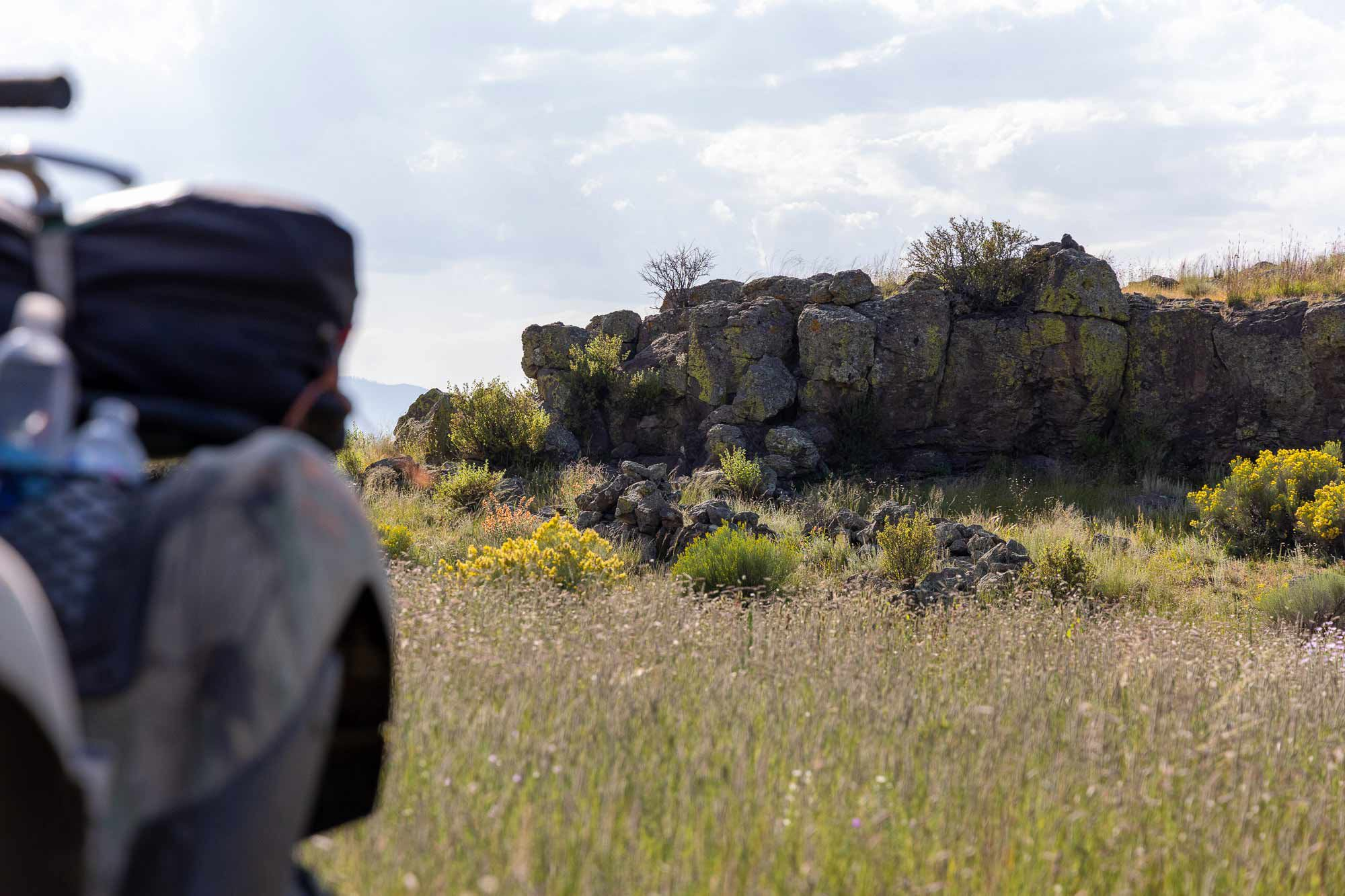 Centuries ago, Native Americans made camp on this spot, a rocky promontory with a creek and 360-degree views of the surrounding landscape.