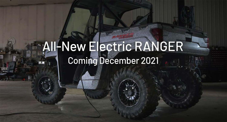2022 Polaris Electric Ranger Prototype Video   UTV Driver