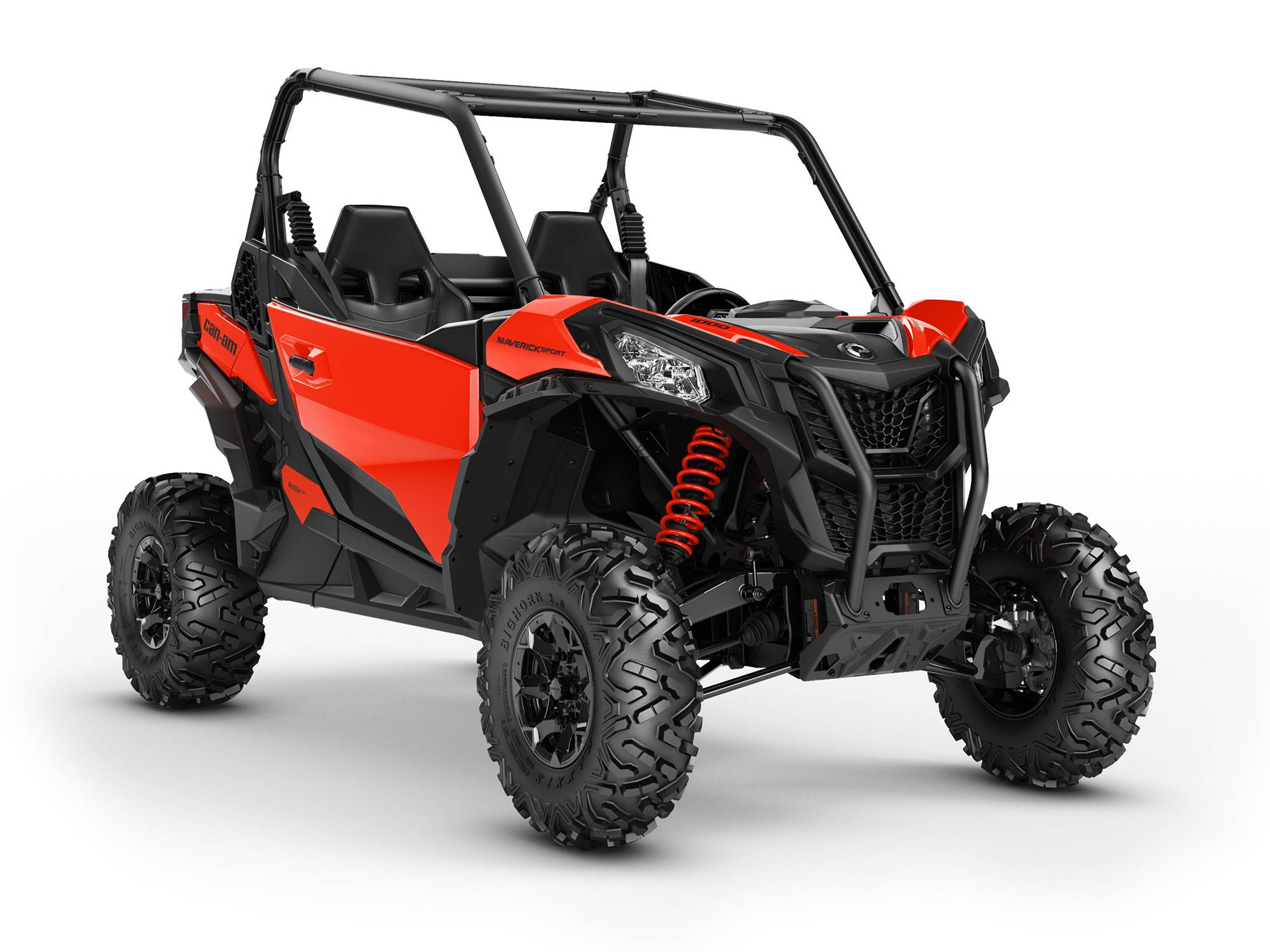 The base-model 2022 Maverick Sport comes in any color a buyer could want, as long as it's red.