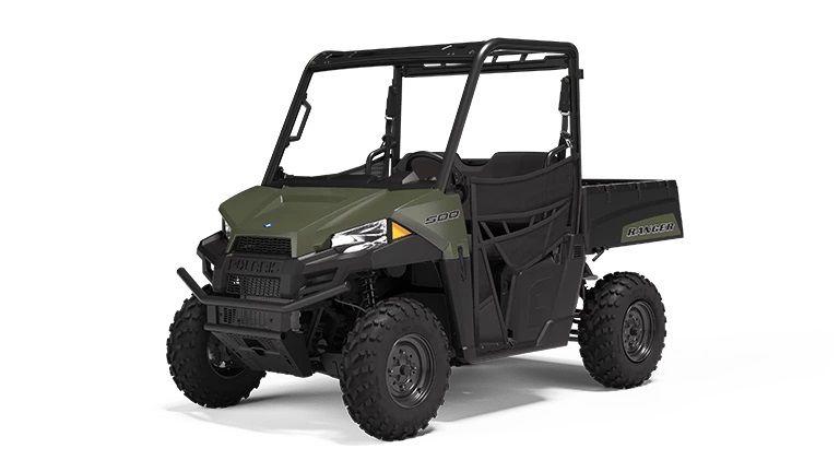 The 2022 Polaris Ranger 500.
