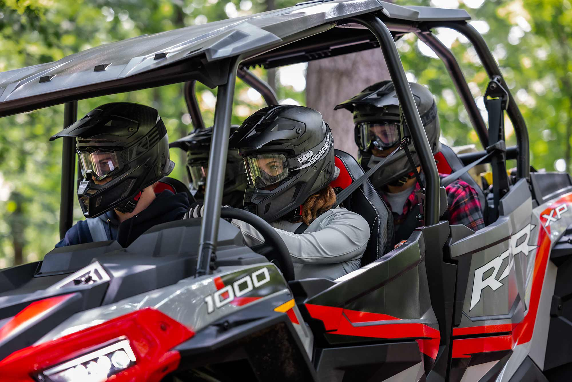 Seating for the entire family makes these RZR options some of the most fun.