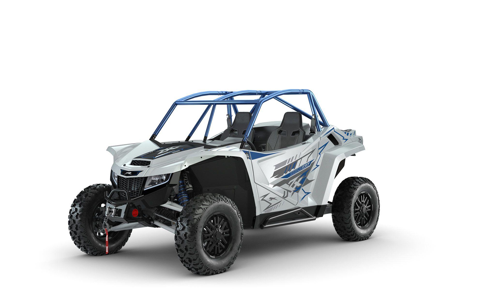 2022 Arctic Cat Wildcat XX SE model in Phantom Gray.