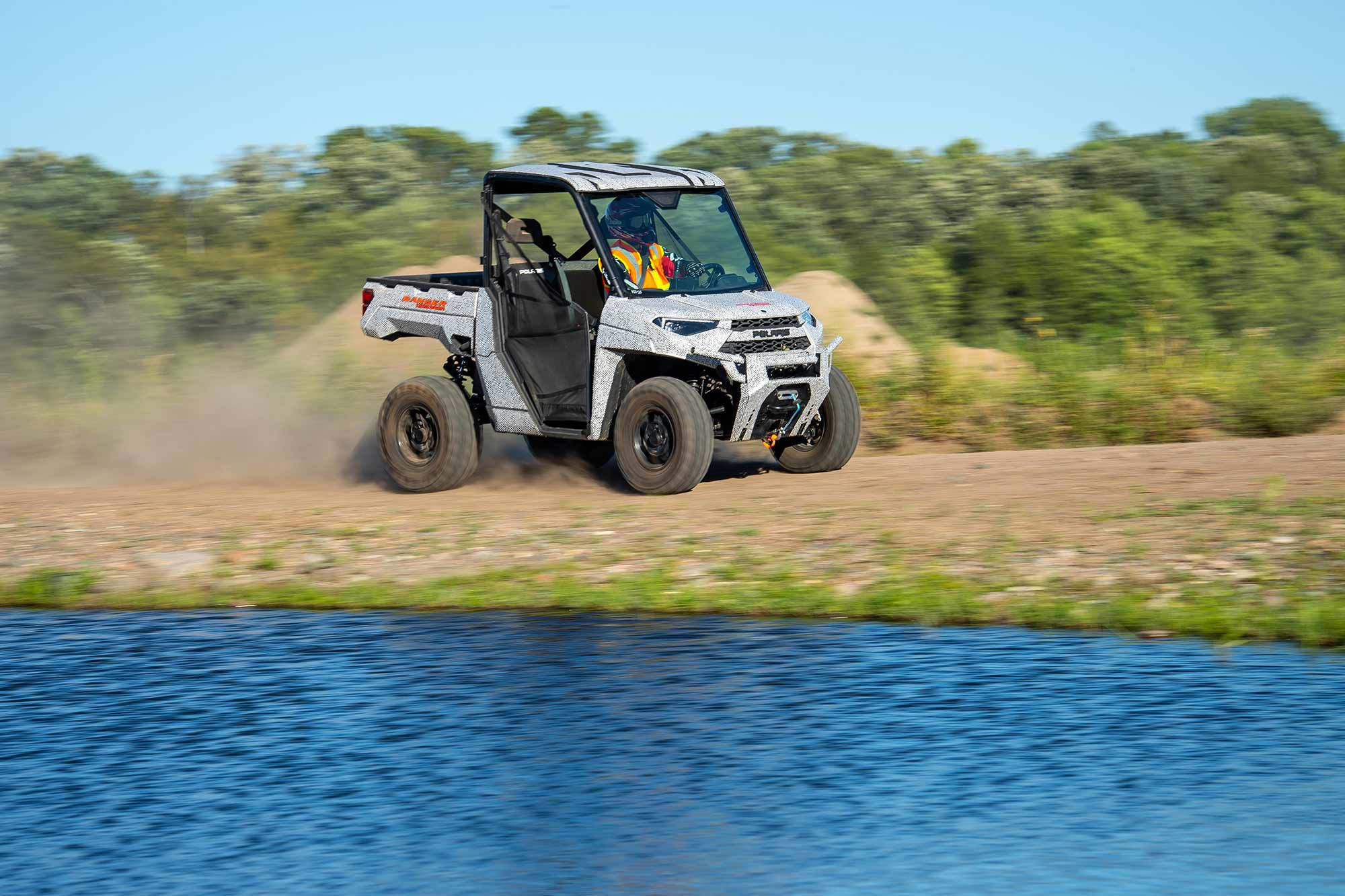 Polaris knows the Ranger EV's success depends on how well the company can demonstrate the vehicle's capabilities.