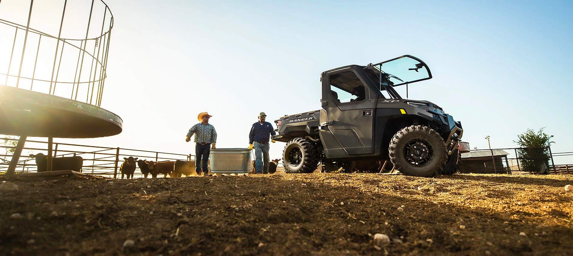The 2022 Polaris Ranger XP 1000 comes in a wide array of trims and specs, and they're all equally at home at work or play.