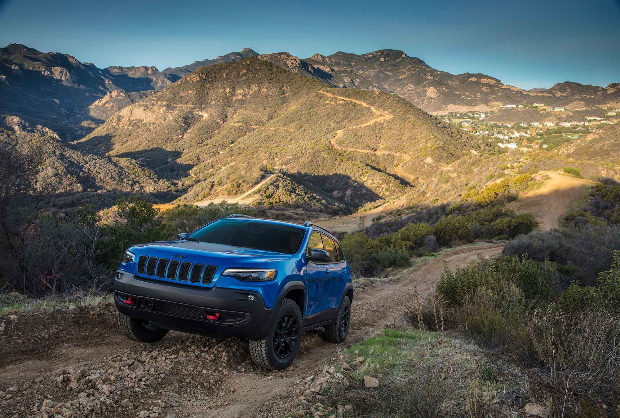 The 2021 Jeep Cherokee can tow up to 4,500 pounds.
