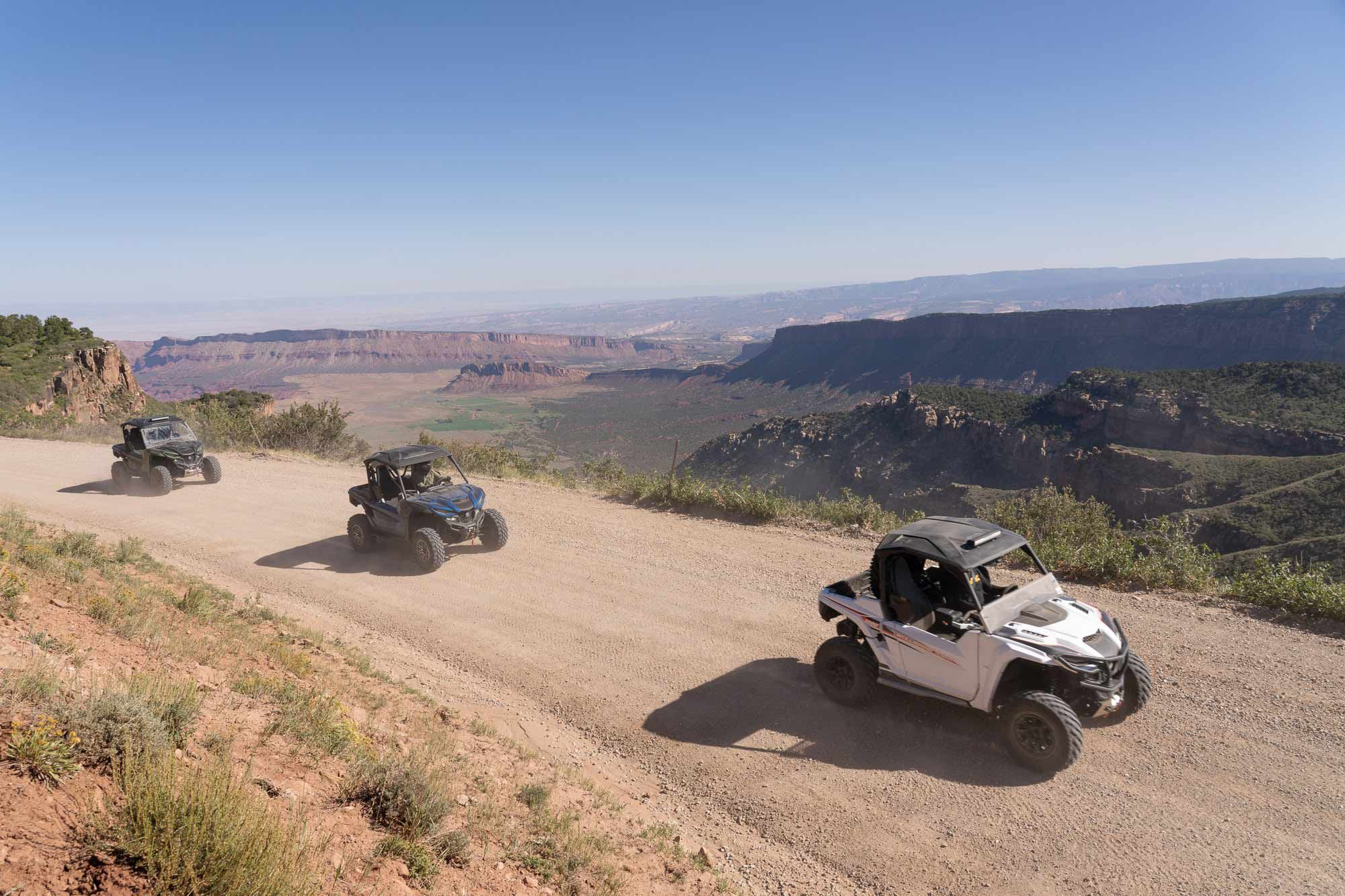 Dazzling vistas in every direction overwhelm the senses while exploring eastern Utah.