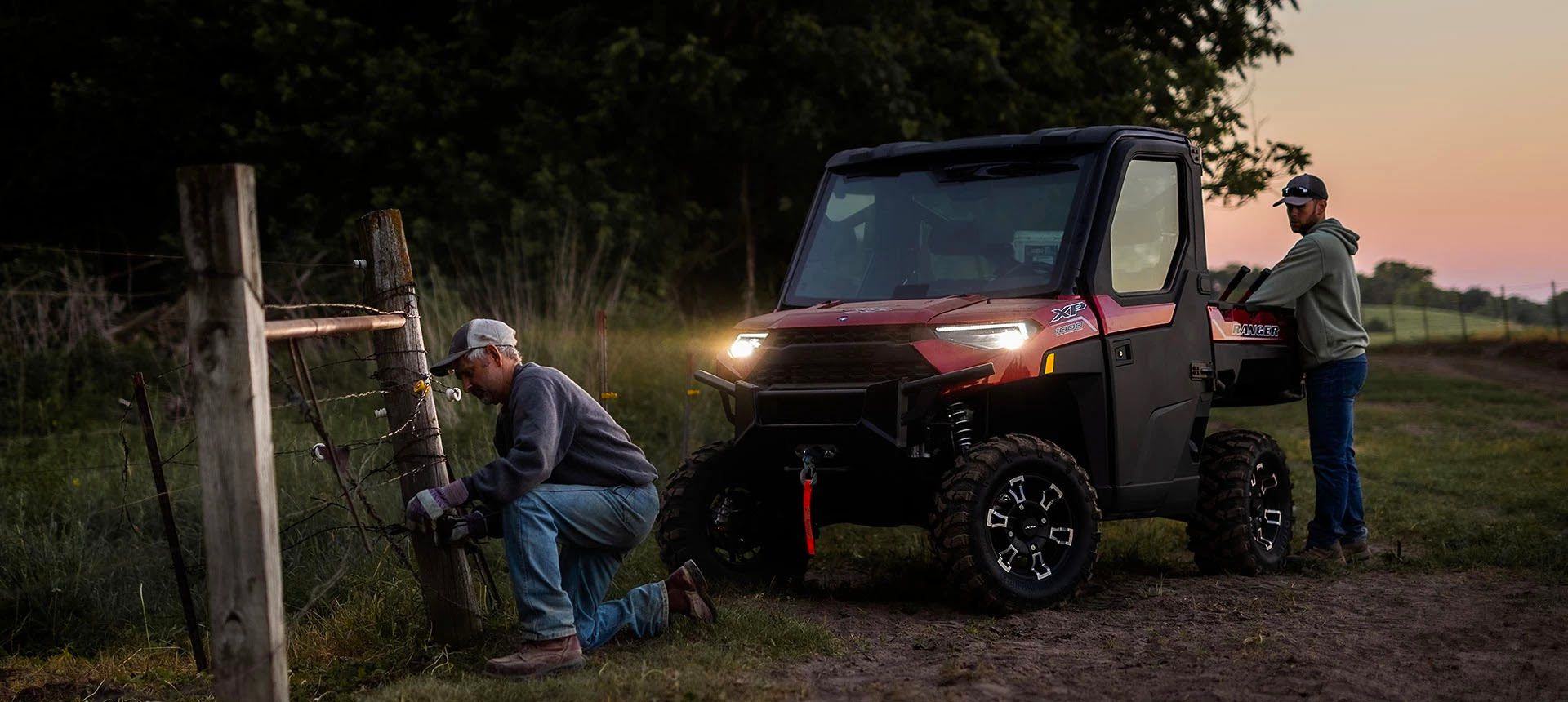 With an enclosed cab, HVAC, and electric windows, the 2022 Polaris Ranger XP 1000 NorthStar Edition Ultimate is as close as you can get to a small pickup without springing for a small pickup.