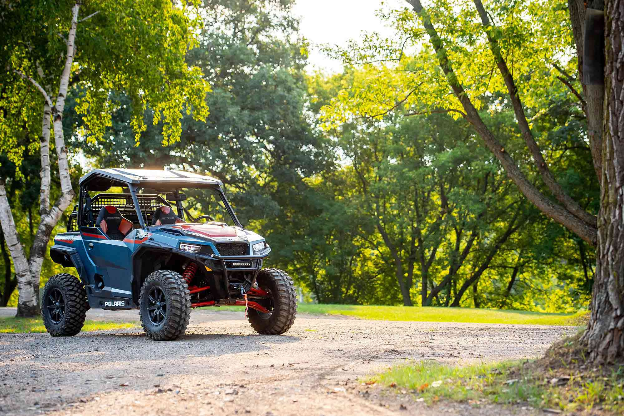 The 2022 Polaris General XP 1000 Trailhead Edition is at home both on the trail and off.