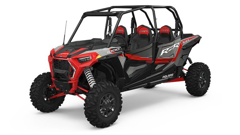 Ride Command comes standard on the 2022 RZR XP 1000 Premium models.