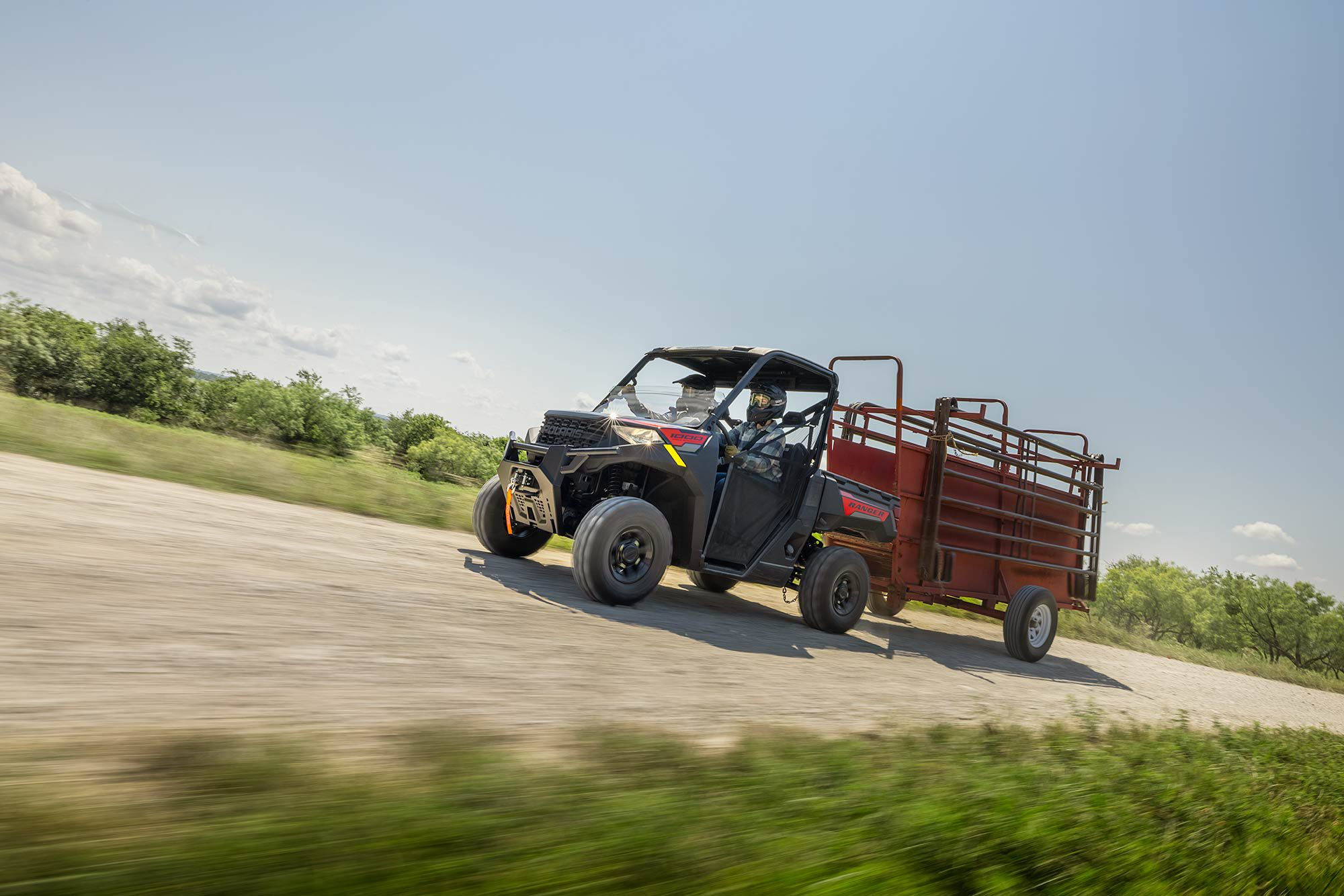 Happy to work, the Ranger 1000 will do more than some pickup trucks.