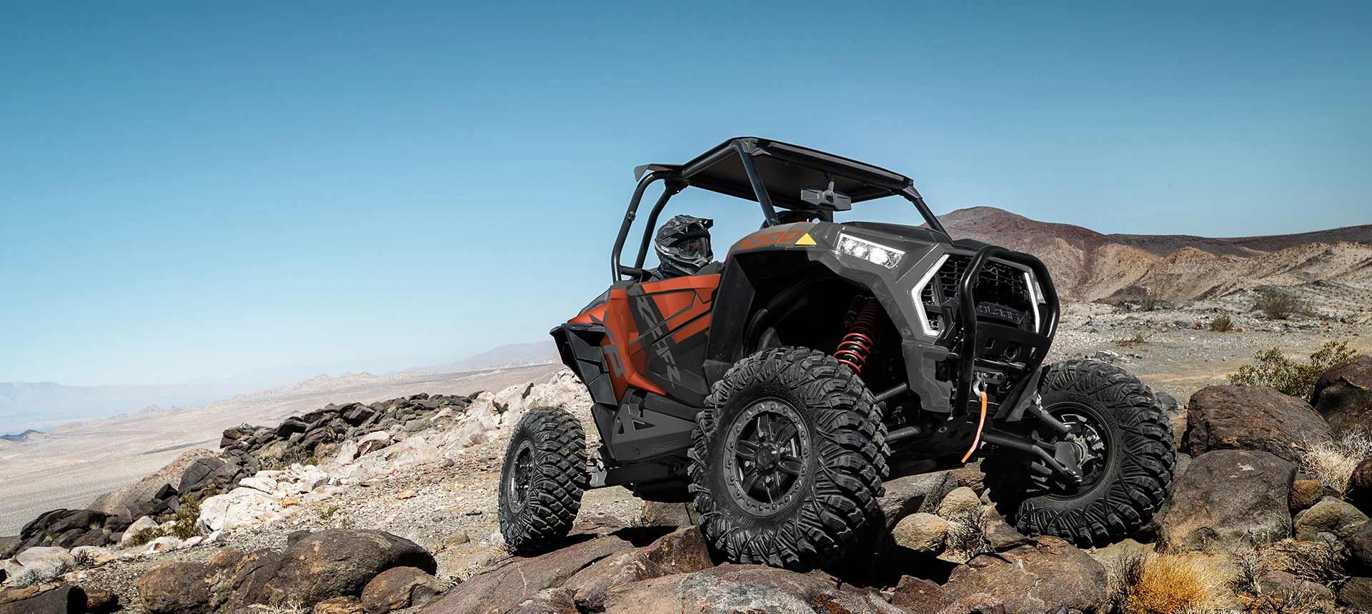 If you like your fun on the rocks, you'll dig the RZR XP 1000 Trails & Rocks Edition.
