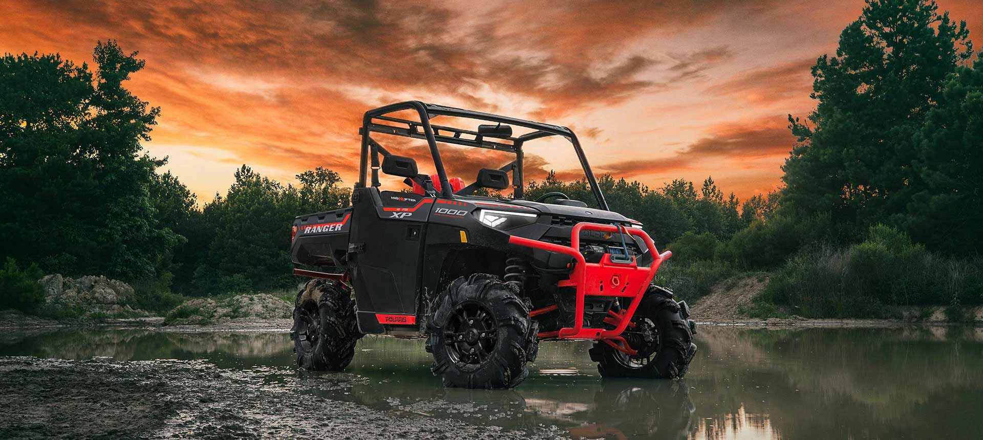 2022 Ranger XP 1000 and Ranger Crew XP 1000 High Lifter editions are on the list.